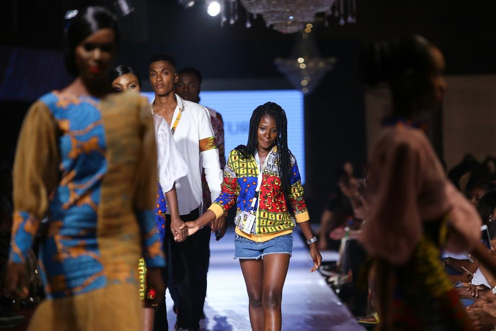 Designer Mmakamba showcased her recent collection for Day 1 of Africa Fashion Week Nigeria 2017. From the fringe to the low neckline pieces, Mmakamba definitely has a lot to offer the contemporary woman.