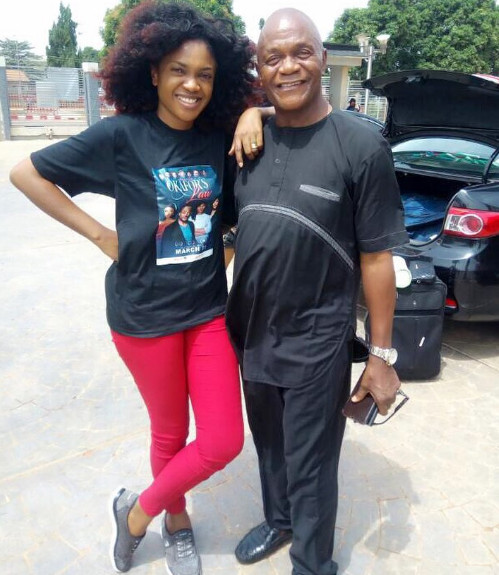 Omoni Oboli Pens Down Emotional Open Letter to her Dad in Honour of His Burial