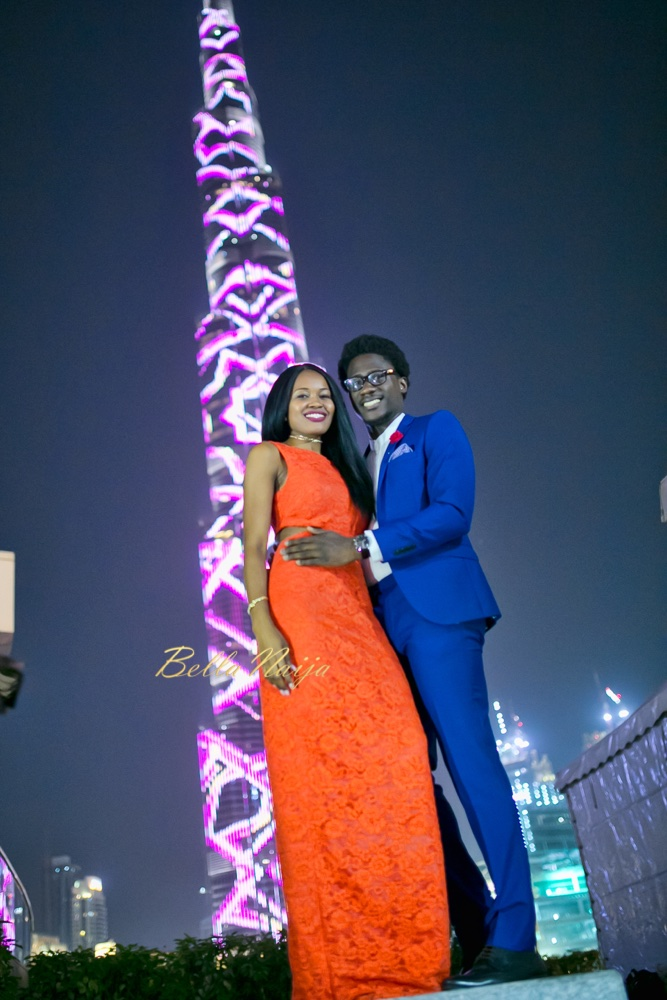 Soulmates who Love Photos! See Michael & Osy's Awesome Pre-Wedding Photos in Dubai #OsyMe2017