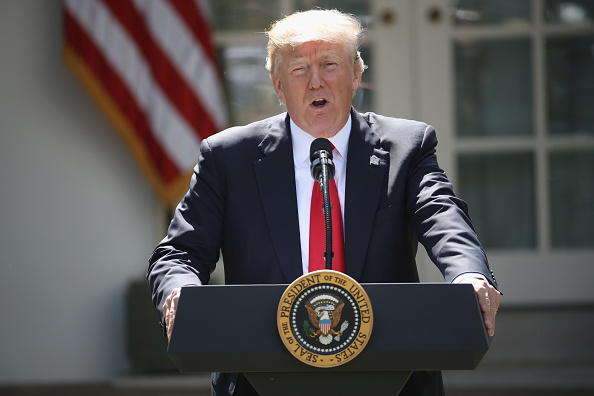 "U.S ""could conceivably"" reenter Paris Climate Agreement - Trump"