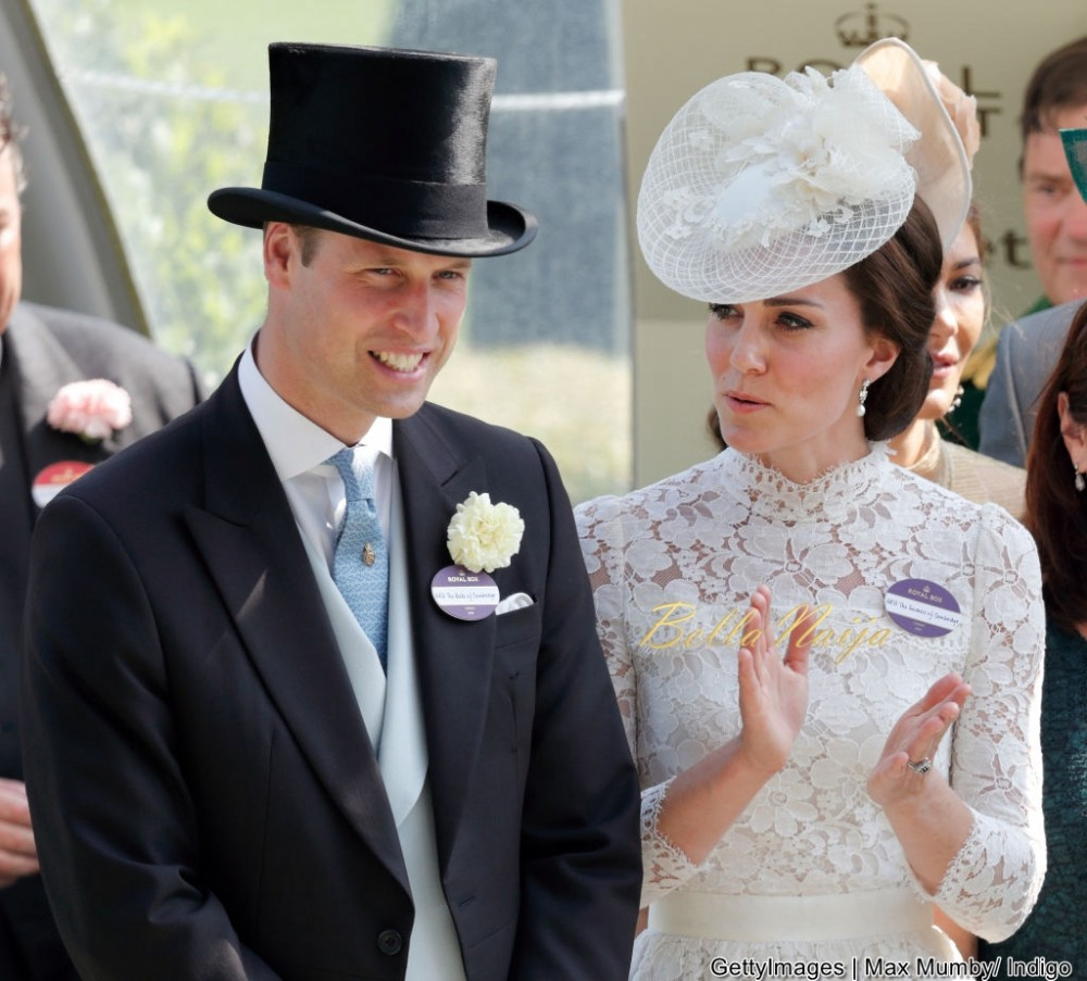 Prince Williams & Kate Middleton are Super Stylish for Day 1 of Royal Ascot 2017