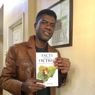 "Reno Omokri says his Book ""Facts vs Fiction"" Distributor was detained by DSS in Abuja"