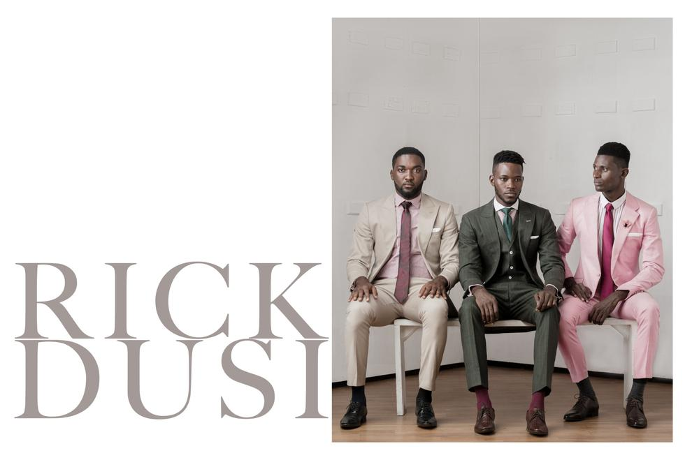 Menswear Brand RICKDUSI Releases its SS18 Campaign Edit titled 'The Conversation'