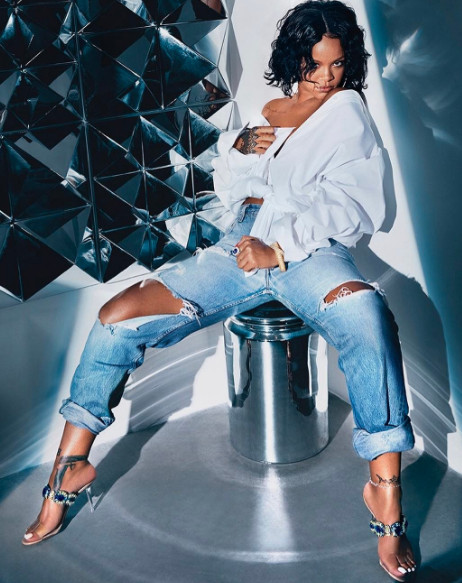 Rihanna Releases her Final Collection with Manolo Blahnik called 'So Stoned'