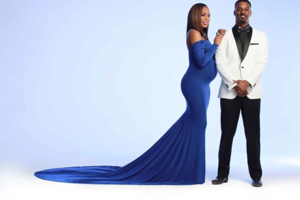 Sanya Richards-Ross, Maternity Shoot, Aaron Ross