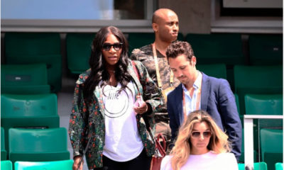 Spotted! Mama-to-be Serena Willliams goes to Watch Venus at the French Open