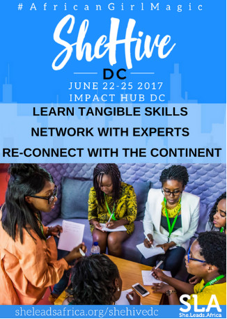 She Leads Africa SheHive bootcamp