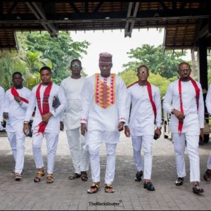 First Look: Ghanaian Singer Stonebwoy and Louisa Ansong's Wedding