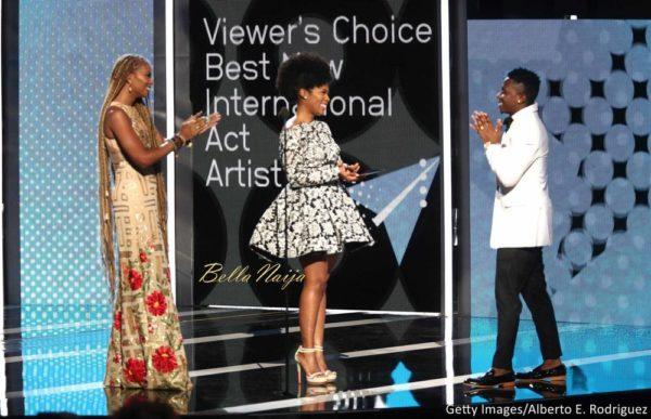 #BETAwards17: Becca and Stonebwoy attend the BET International Awards Presentation - EOnlineGH.Com