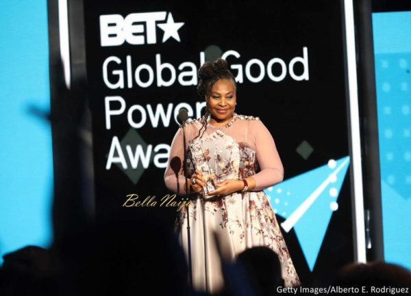 #BETAwards17: Tekno, Nasty C, Becca, Stonebwoy, Pearl Thusi attend the BET International Awards Presentation