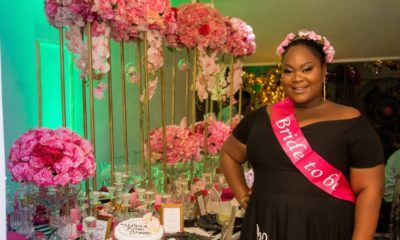 BN Bridal Shower: Pop a Bubbly, Tobi is Getting a Hubby! | Kate Spade Theme by Just Showers