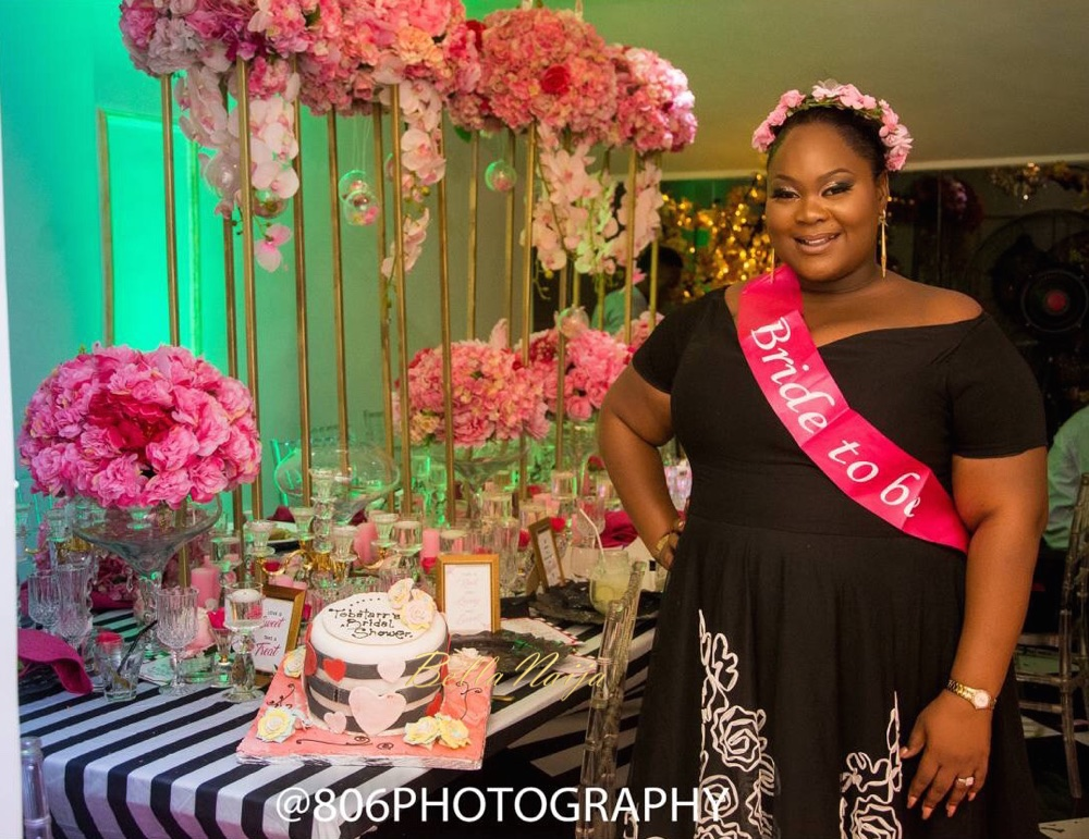 BN Bridal Shower: Pop a Bubbly, Tobi is Getting a Hubby!   Kate Spade Theme by Just Showers