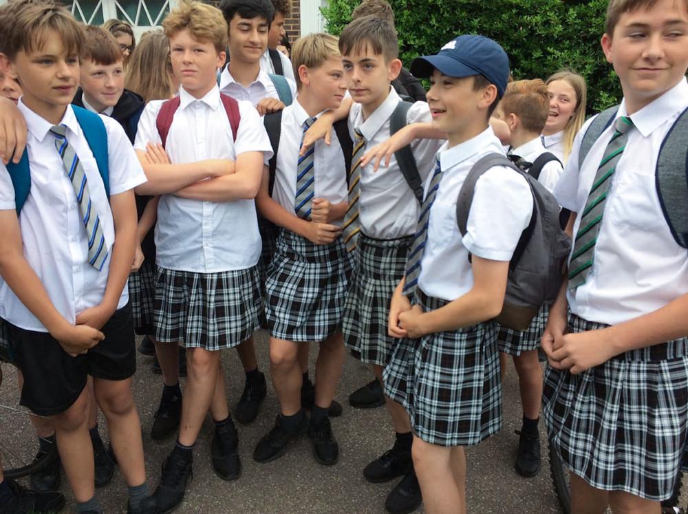 Boys, Skirts, Protest