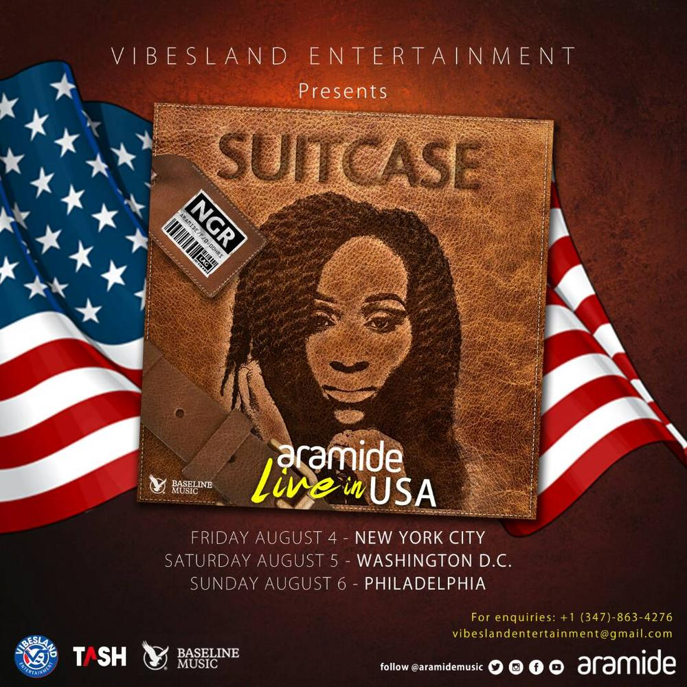 "BellaNaija - Aramide stuns in New Photos as she announces ""Suitcase"" US Tour"
