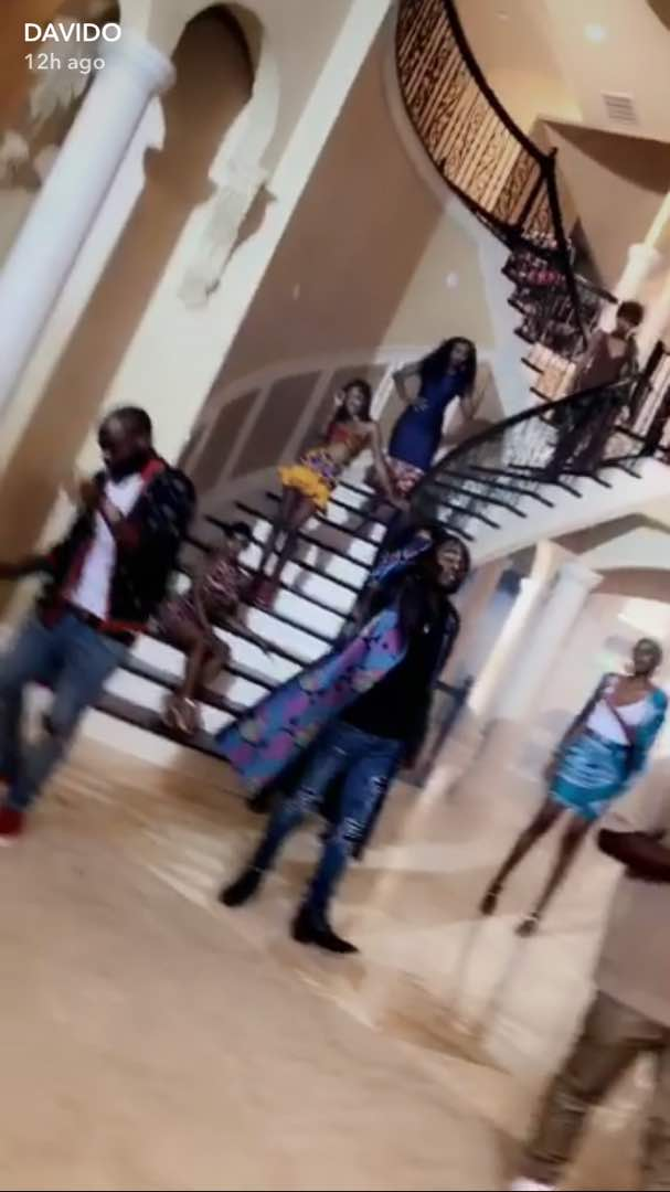 "BellaNaija - Davido & Olamide join Wale for Video Shoot of ""Fine Girl"" in Atlanta"