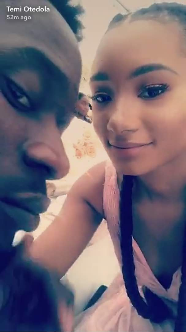 Image result for TEMI OTEDOLA AND MR EAZI