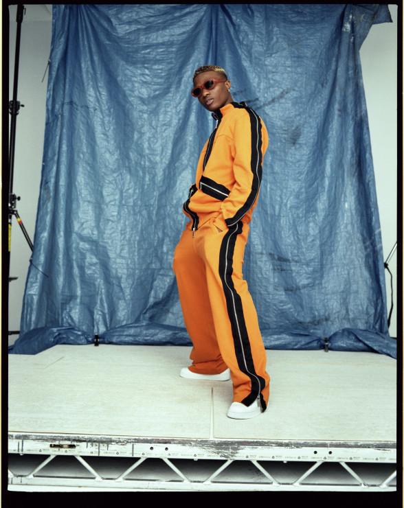BellaNaija - Starboy Ting! Wizkid gets featured on Hunger Magazine | See Photos