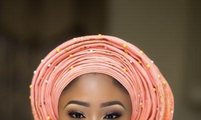 Here Comes the Bride! See #BBNaija's Cocoice in Yoruba Bridal Inspired Photo Shoot