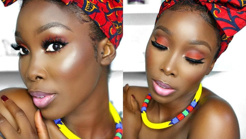 BN Beauty: Get this Ankara Inspired Makeup Look by IamDodos