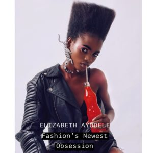 Fast Rising Model Elizabeth Ayodele Covers A Nasty Boy's June/July Issue