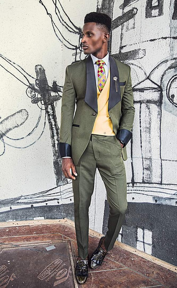 Nigerian Menswear Brand FreshbyDotun Unveils its 2017 Suit Collection titled 'Modern Groom'