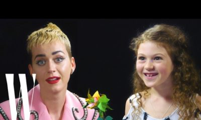 Katy Perry gets Interviewed by a 7-Year-Old for W Magazine | Watch