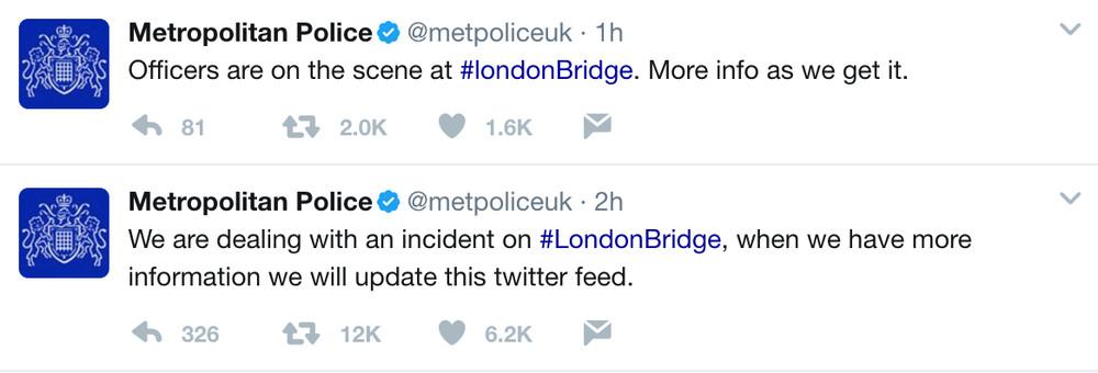 Possible UK Terrorist Attack at London Bridge Station Leaves 20 Dead