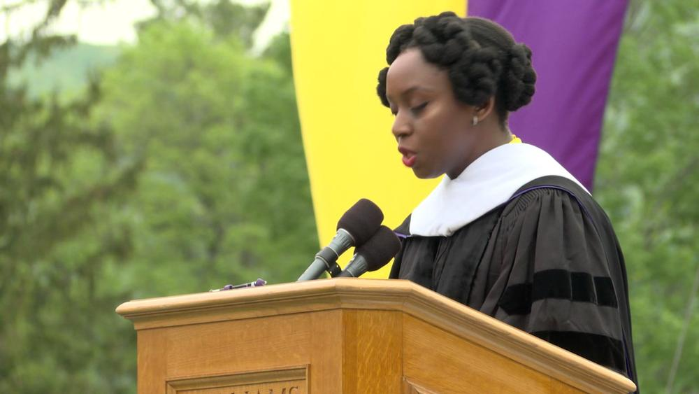 chimamanda adichie speech Have you ever wondered how stories can affect your world-view writer chimamanda ngozi adichie explores this in her 'ted talk' presentation.