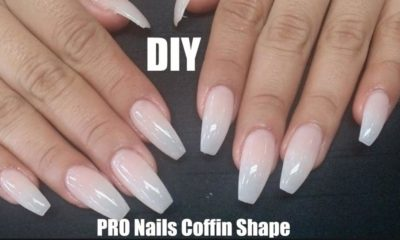 Monday Manicure: How to Fix Acrylic Nails and Create a Coffin Shape