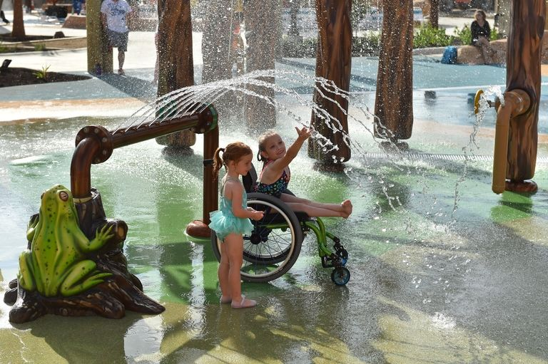 The World's First Wheel Chair-Friendly Water Park in Texas Fosters Inclusion with Fun! | WATCH