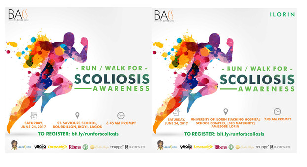 Scoliosis awareness run/walk