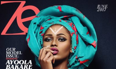 Model Ayoola Bakara Cover June/July Issue of Zen Magazine