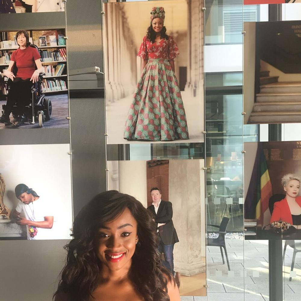 BellaNaija - Nollywood Actress Uru Eke celebrated by Alma Mater in London