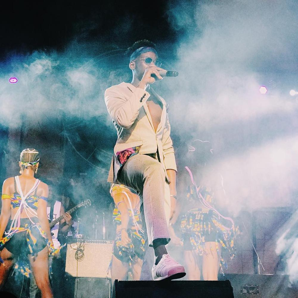 BellaNaija - #DettyWorldTour: Mr Eazi performs at The Shrine | Photos + Video