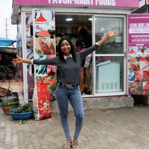 BellaNaija - Actress Belinda Effah launches New Food Stores