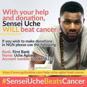 BellaNaija - #SenseiUcheBeatsCancer: OAP Uche Agbai needs Our Help