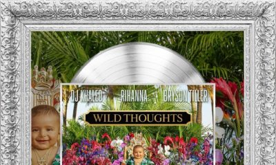 "BellaNaija - DJ Khaled Hit Song ""Wild Thoughts"" featuring Rihanna & Bryson Tiller certified Platinum"