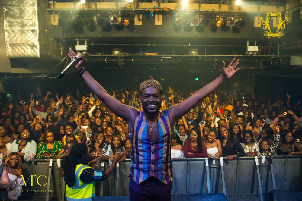 Adekunle Gold killed his First Headline Show in London & We've got the Photos