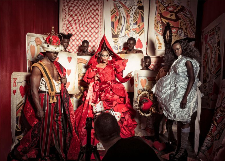 All that Melanin! Lupita Nyong'o, P Diddy, Naomi Campbell feature in Alice in Wonderland-themed Pirelli 2018 Calendar