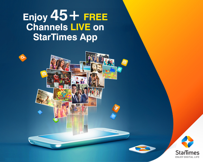 Enjoy over 45 Channels for FREE on your Mobile Phone with StarTimes