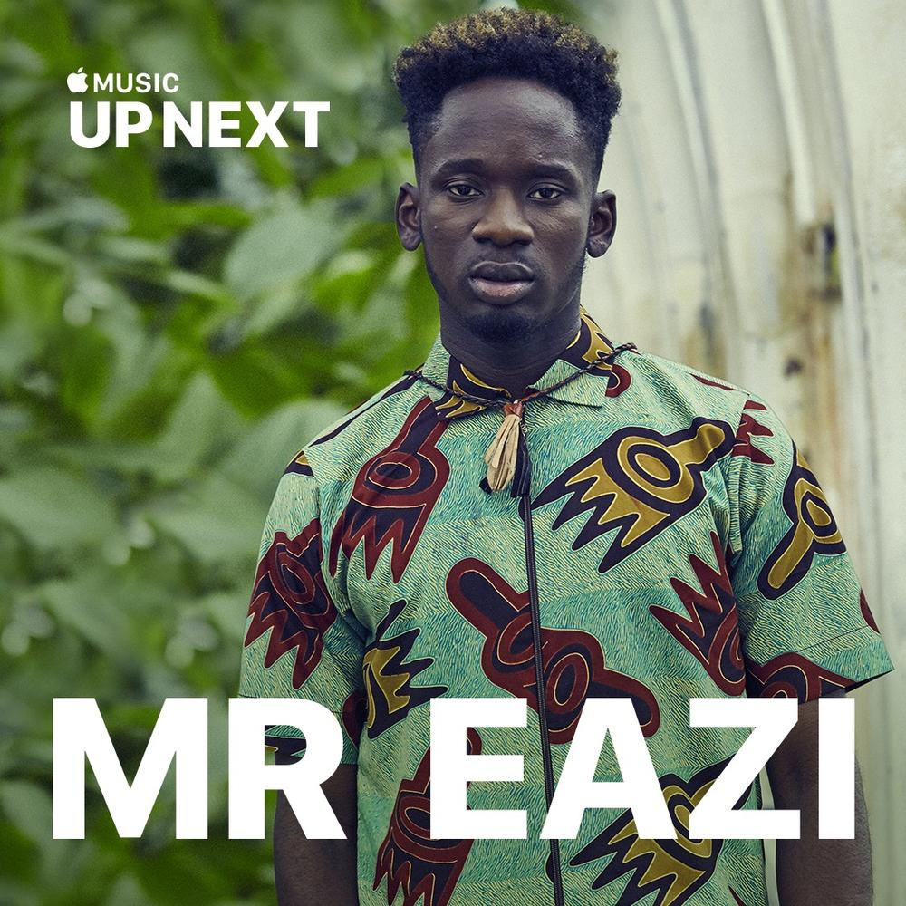 "Big moves! Mr Eazi Features on Apple Music's ""Up Next"""