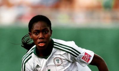 Super Falcons' Asisat Oshoala scores 7th goal as Dalian move Top of Table