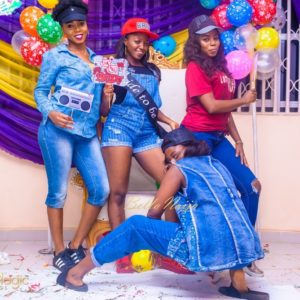"BN Bridal Shower: It's Time to ""Bust a Move"" with Chikky's Hip Hop Themed Party #tybell17"