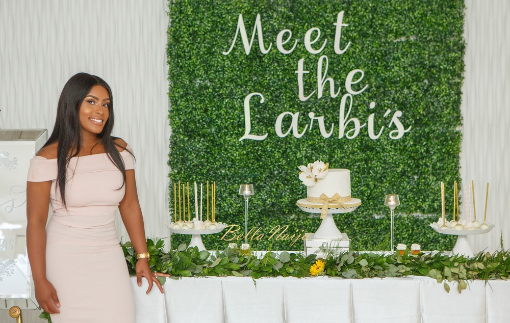 BN Bridal Shower: Before the #MeetTheLarbis Wedding it's Jennifer's Garden Themed Party!