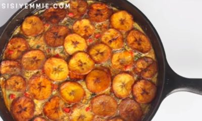BN Cuisine Sisi Yemmie Shares Delicious Plantain & Fish Frittata Recipe