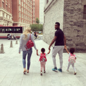 BN Living Sweet Spot Mikel Obi takes his cute Twins to Nursery school