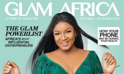 Nollywood Screen Diva Omotola Jolade Dazzles On the Cover of Glam Africa Magazine BellaNaija