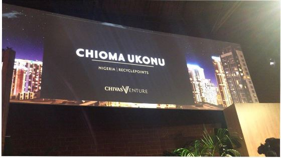 Nigeria's Chioma Ukonu comes in Second Place at the 2017 #ChivasVenture!