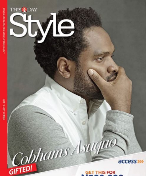 The Gifted Cobhams Asuquo covers ThisDay Style Magazine's latest issue
