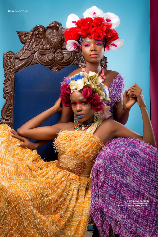 Colour Me Pretty! We Love This Beauty Editorial by Shola Ajisegbede for Fruk Magazine